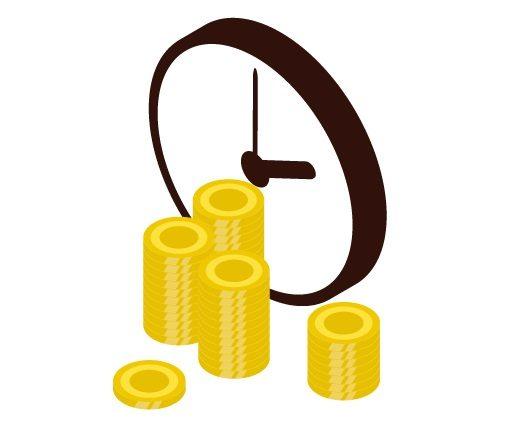買取代金の振込時間は各銀行により異なる