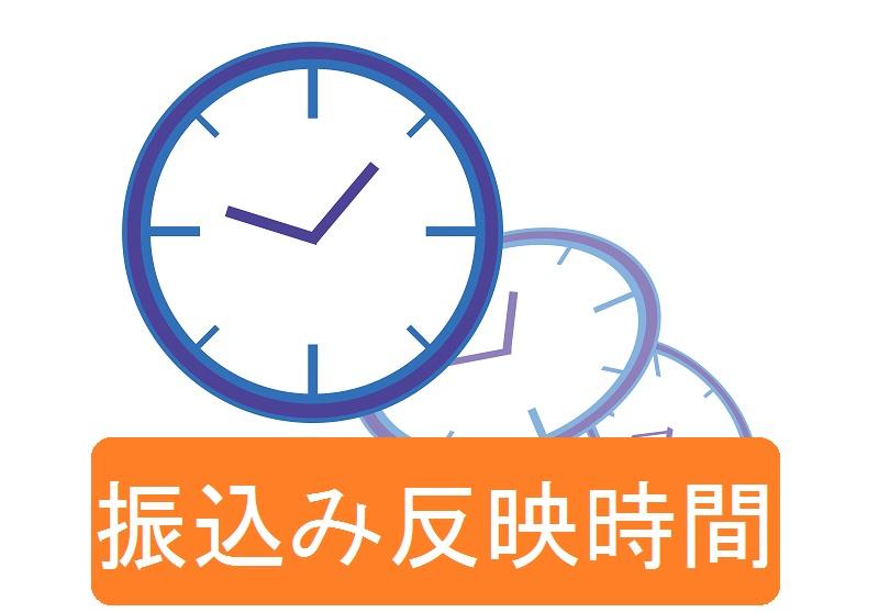 普通銀行・ネット銀行の振込反映時間